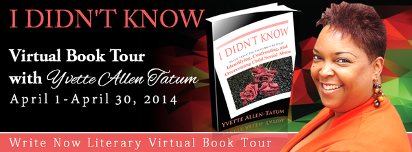 I DIDN'T KNOW VIRTUAL BOOK TOUR with YVETTE ALLEN- TATUM
